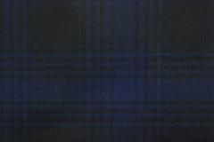Tela de la tela escocesa Foto de archivo