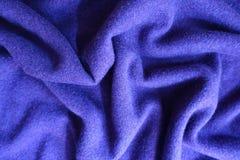 Tela de lana simple fina violeta atascada del jersey Imagenes de archivo