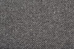 Tela de las lanas del tweed de la raspa de arenque como fondo fotografía de archivo