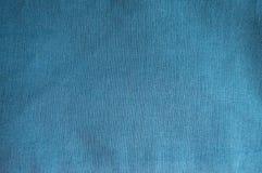 Tela de linho simples do azul esverdeado Imagens de Stock