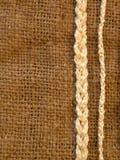 Tela de lino Foto de archivo libre de regalías