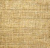 Tela de lino beige Foto de archivo libre de regalías
