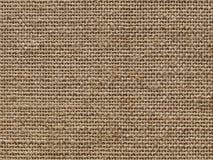Tela de lino de la fabricación áspera. Foto de archivo