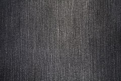 Tela de los pantalones vaqueros Foto de archivo libre de regalías