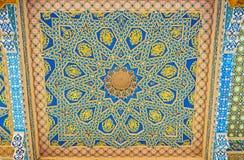 A tela de madeira colorida Imagem de Stock