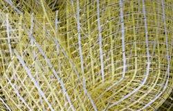 Tela de malha para o ramalhete da flor fotografia de stock