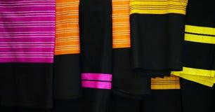 Tela de matéria têxtil dobrada Fotografia de Stock Royalty Free