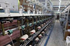 Tela de materia textil Ä°n Turquía Foto de archivo libre de regalías
