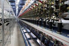 Tela de materia textil Ä°n Turquía Imagen de archivo libre de regalías