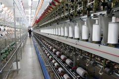 Tela de materia textil Ä°n Turquía Fotos de archivo libres de regalías