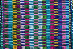 Tela de materia textil de la tribu de la colina Imagenes de archivo