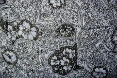 Tela de materia textil floral Fotos de archivo