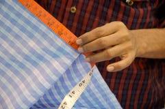 Tela de medición Foto de archivo libre de regalías