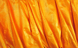 Tela de oro Imagenes de archivo