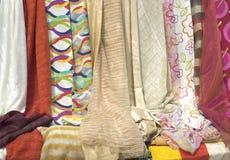 Tela de seda Imágenes de archivo libres de regalías