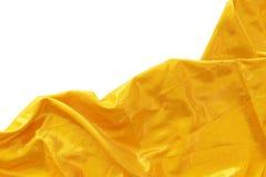 Tela de seda del oro foto de archivo