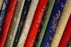 Tela de seda elegante fotografía de archivo