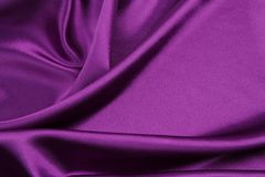 Tela de seda púrpura fotografía de archivo libre de regalías
