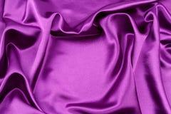 Tela de seda púrpura imagen de archivo libre de regalías