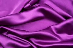 Tela de seda púrpura fotos de archivo libres de regalías