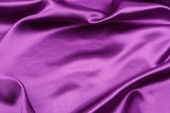 Tela de seda púrpura fotos de archivo