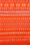 Tela de seda tailandesa Imágenes de archivo libres de regalías