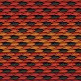 Tela de tecelagem colorida Foto de Stock