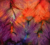 Tela del batik del tinte para el fondo y la textura Fotografía de archivo