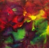 Tela del batik del tinte para el fondo y la textura Fotos de archivo