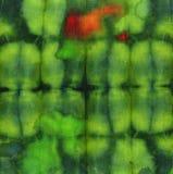 Tela del batik del tinte para el fondo y la textura Imagenes de archivo