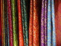 Tela del brocado Foto de archivo libre de regalías