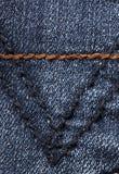 Tela del dril de algodón Imagen de archivo