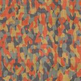 Tela del material del camuflaje Fotos de archivo libres de regalías