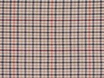 Tela del modelo de la tela escocesa de la textura Imagen de archivo libre de regalías