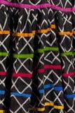 Tela del vestido de Rajasthani Foto de archivo libre de regalías