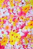 Tela del vintage de las flores para el fondo Fotos de archivo