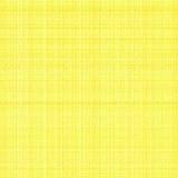 Tela di canapa artistica gialla Immagine Stock