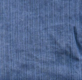 Tela di canapa del Jean blu Fotografia Stock Libera da Diritti