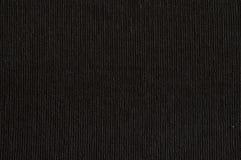 Tela di canapa nera Fotografie Stock Libere da Diritti
