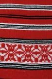 Tela di canapa tradizionale Romania Fotografie Stock Libere da Diritti