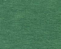 Tela di canapa verde del cotone Fotografia Stock