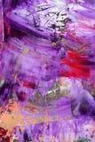 Tela di canapa verniciata come priorità bassa Fotografia Stock