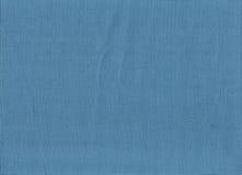 Tela di iuta blu Fotografie Stock Libere da Diritti
