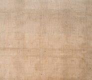 Tela di iuta, fondo rustico del tessuto della tela da imballaggio sacking Immagini Stock Libere da Diritti