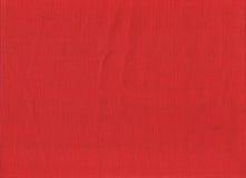 Tela di iuta rossa Fotografia Stock Libera da Diritti
