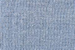 Tela do azul do algodão Fotografia de Stock Royalty Free