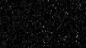 Tela do código binário video estoque