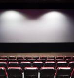 Tela do cinema imagem de stock