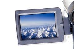 Tela do LCD Imagem de Stock