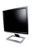 Tela do LCD com trajeto de grampeamento Fotografia de Stock